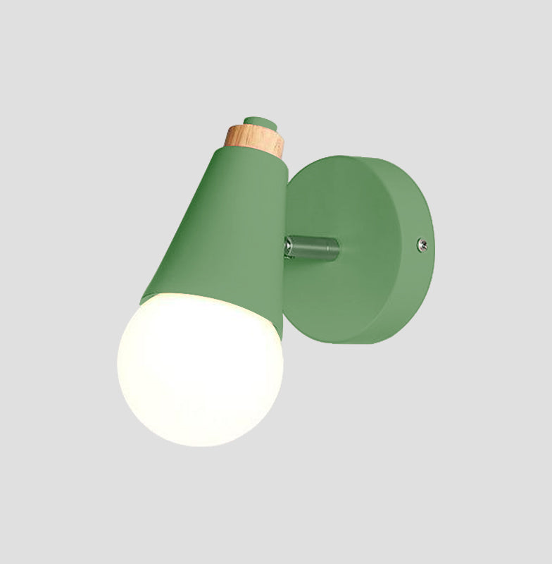 green Cone Wall Sconce lamp
