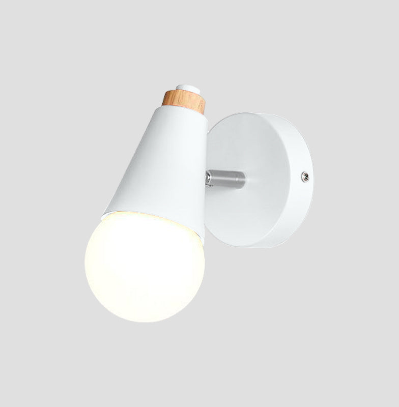 white Cone Wall Sconce lamp