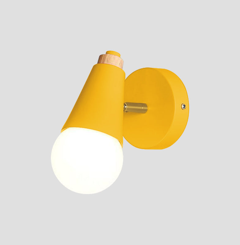 yellow Cone Wall Sconce lamp