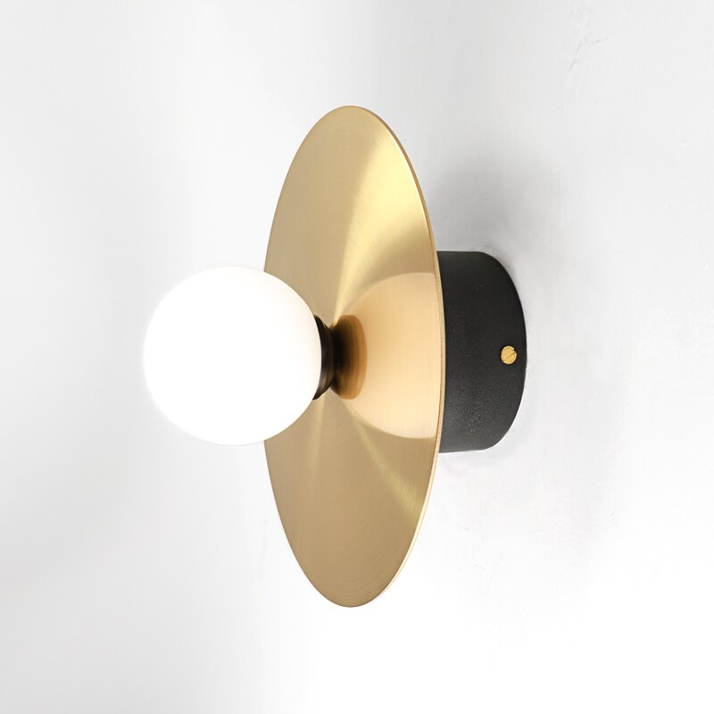 Gold Disk Ceiling & Wall light