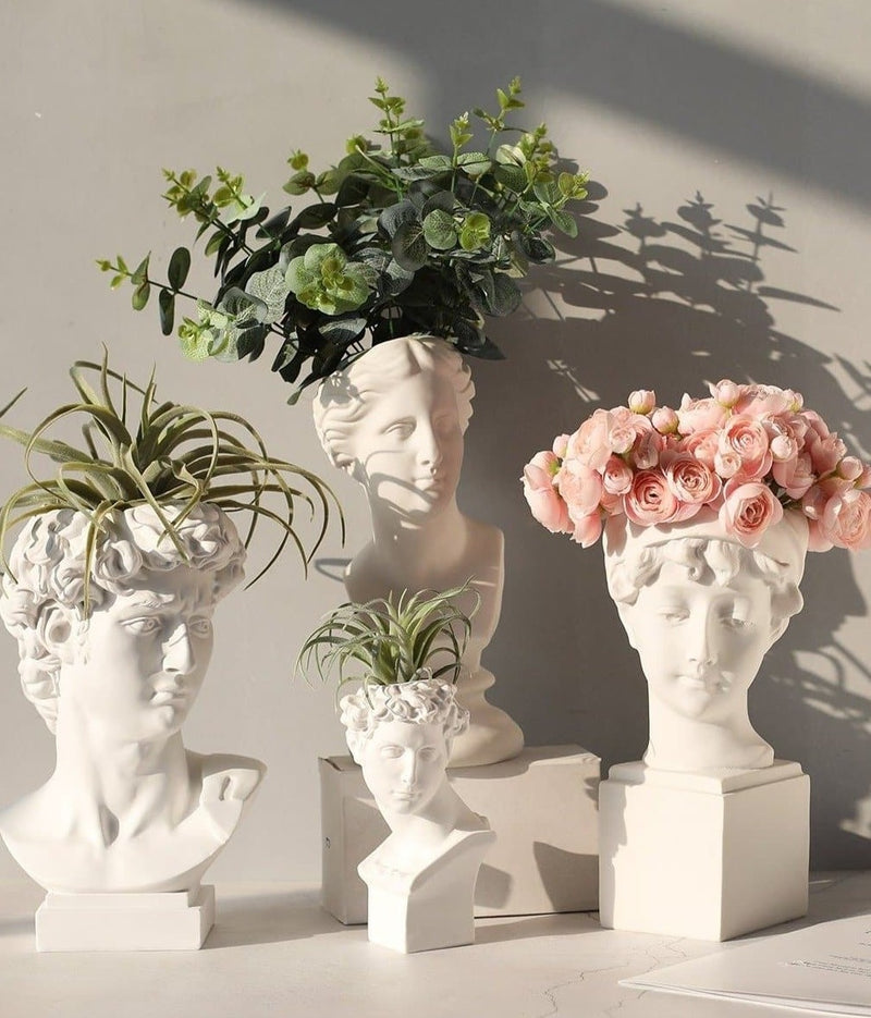 Ancient Figures Neoclassical Vases and Planters