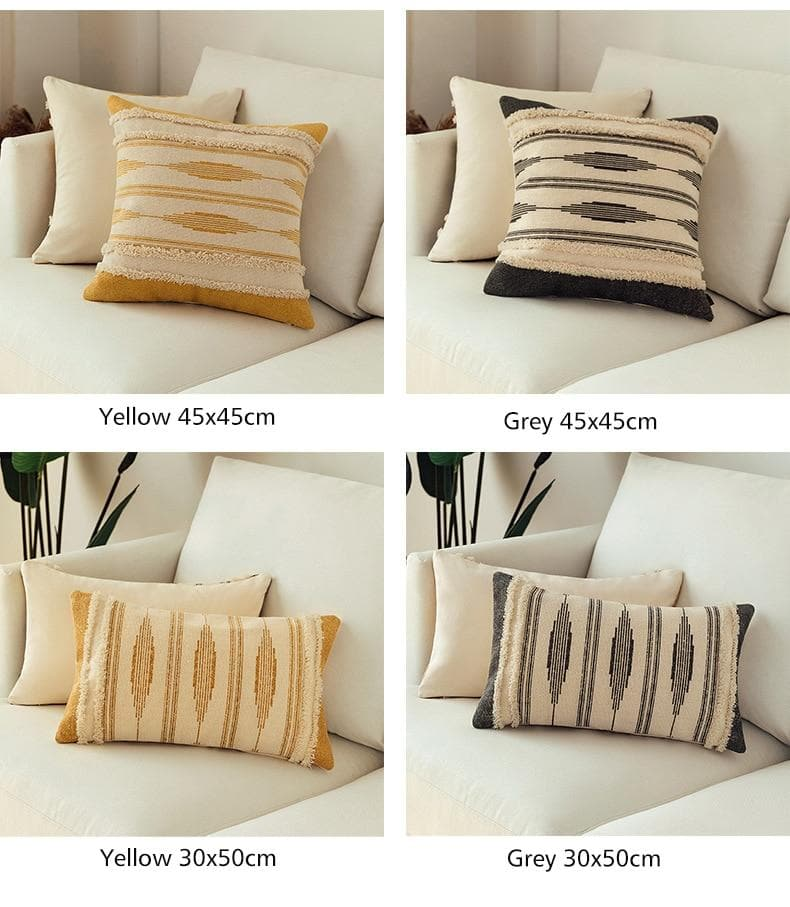 Morroccan Woven Pillow Cover