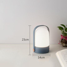 Load image into Gallery viewer, Blue Handheld Table Lamp