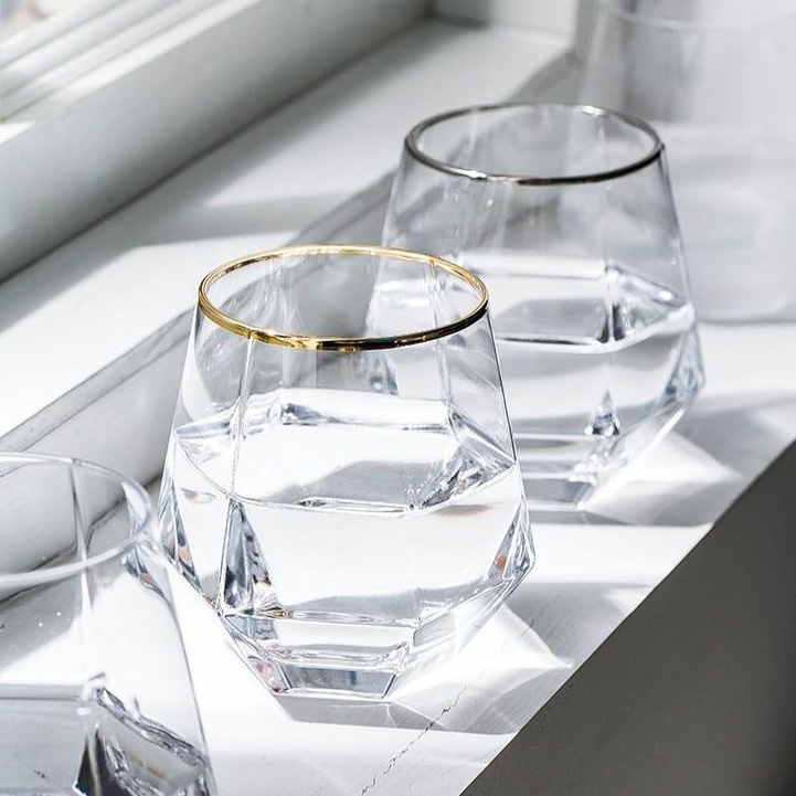 Hexagon Cocktail Glasses