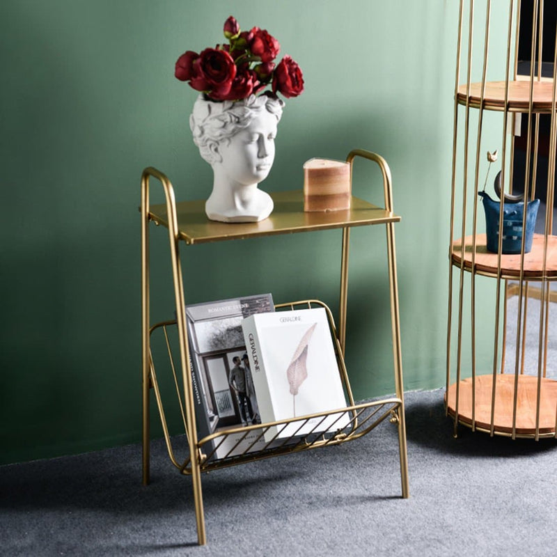 Zane Storage Side Table