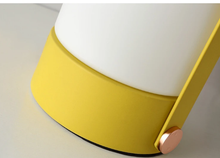 Load image into Gallery viewer, Yellow Handheld Table Lamp