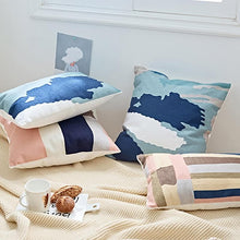 Load image into Gallery viewer, Abstract Embroidered Cushion Covers