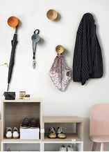 Load image into Gallery viewer, Scandinavian Wooden Wall Hangers and Decor for Room and Office