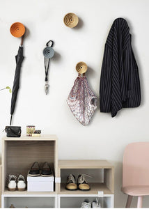 Scandinavian Wooden Wall Hangers and Decor for Room and Office
