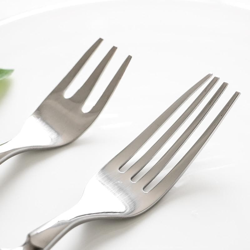 Fine Luxury Flatware in Silver Stainless steel 18/8 and Black Resin