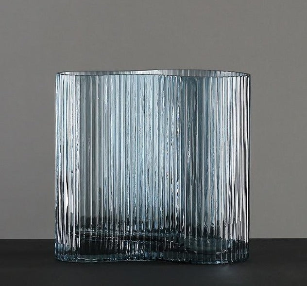 Ripple Glass Vase