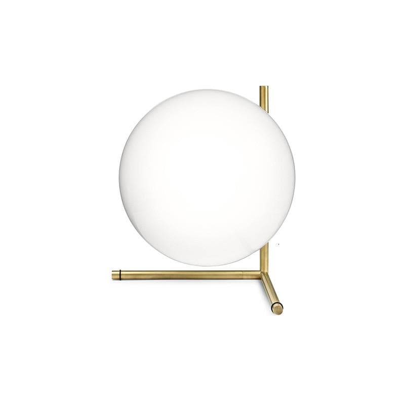 Michael Anastassiades Post Modern Frosted Sphere Brass Table Lamp