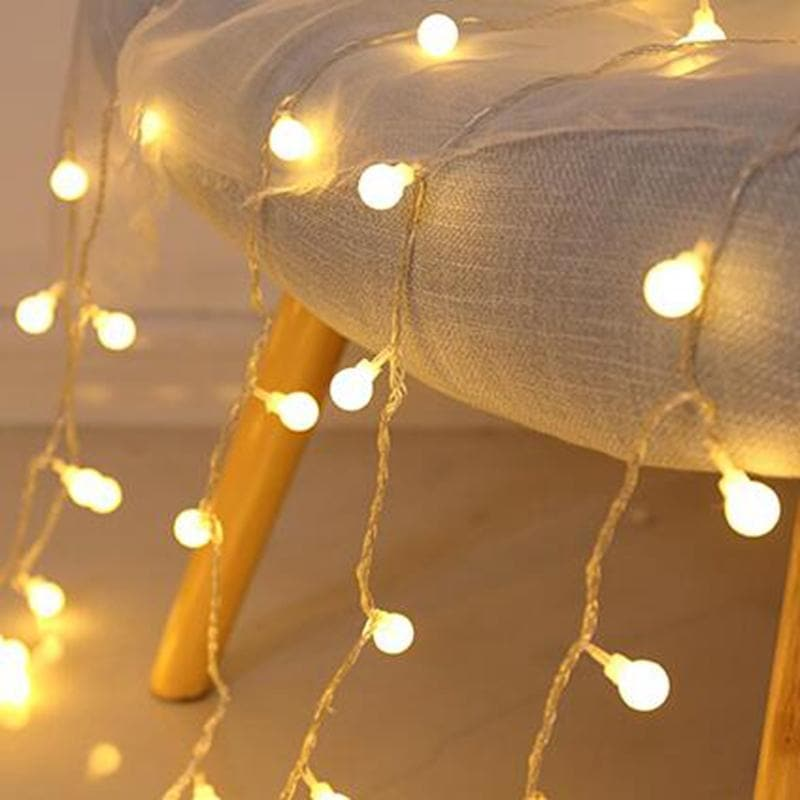 Fairy LED Lights Battery and USB for Outdoors / Indoors 5M 10M string balls