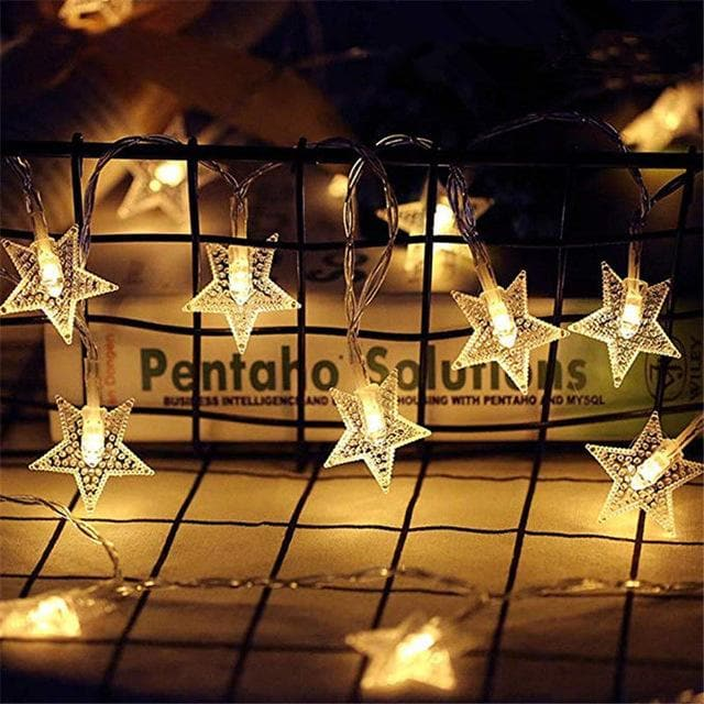 Fairy LED Lights Battery and USB for Outdoors / Indoors 5M 10M star string
