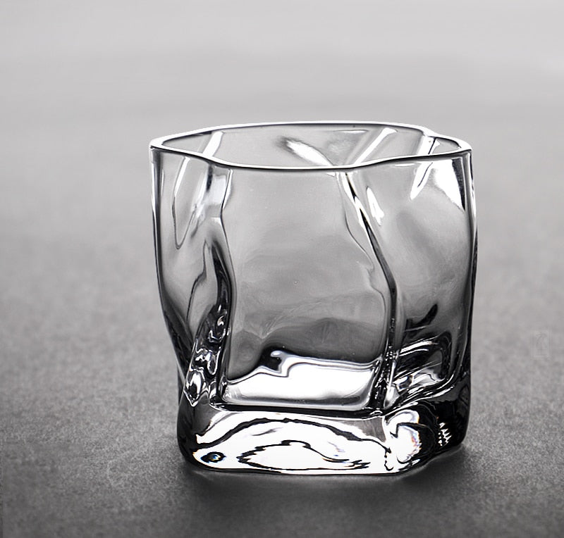 transparent beautiful Whisky glass