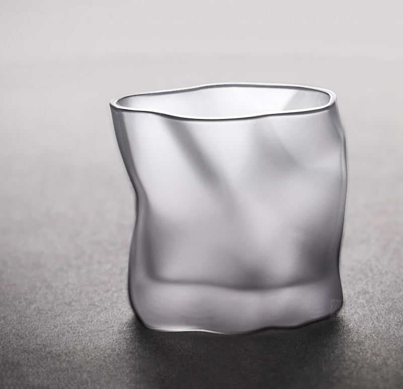 matte glass Whisky glass