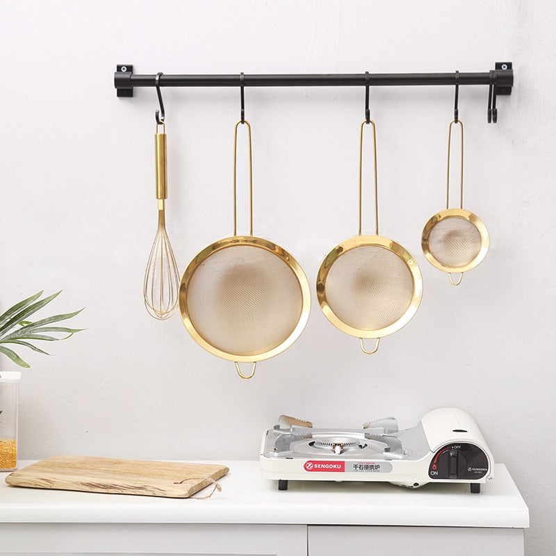 Luxury Gold Stainless Steel Baking Utensil Set
