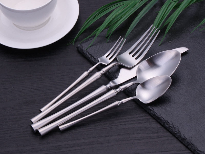 Silver Duchess Flatware Set