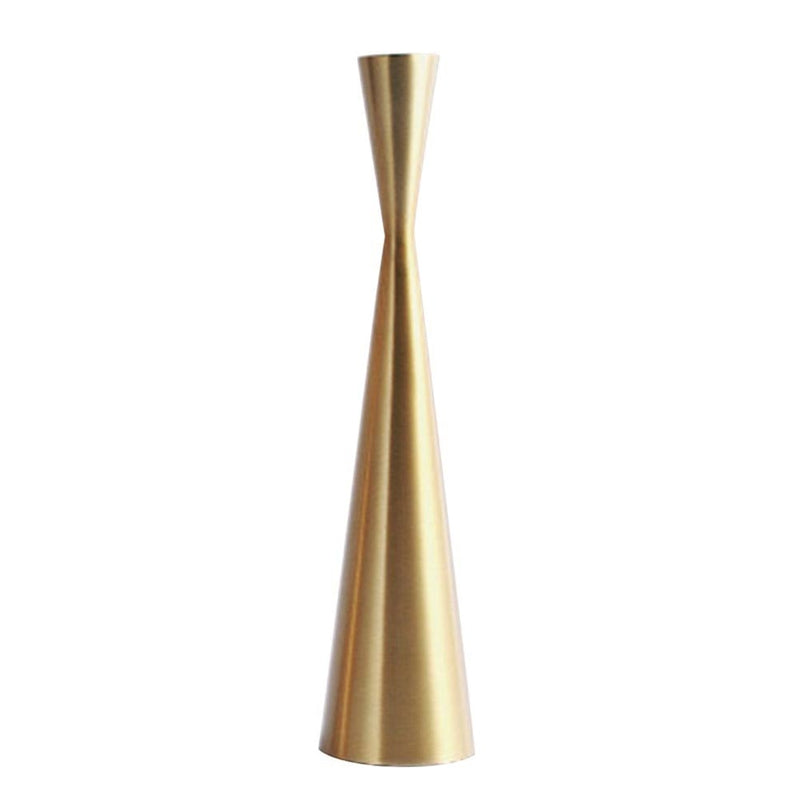 Brass Tower Retro Candle Holder