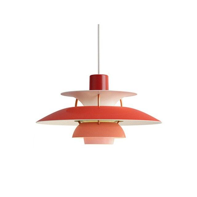 Colored Layered Pendant light
