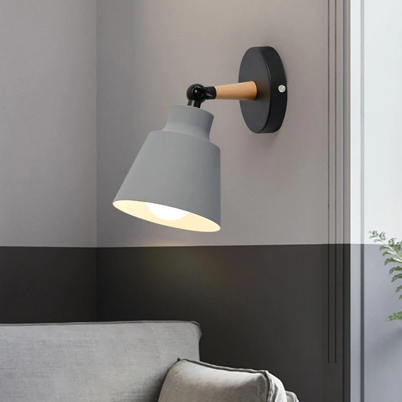Wall Sconce black and grey