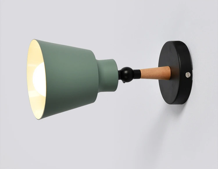 Wall Sconce black and green