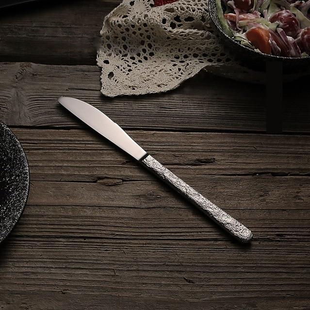 Hammered Stainless Steel Knife