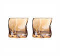 amber Whisky glass