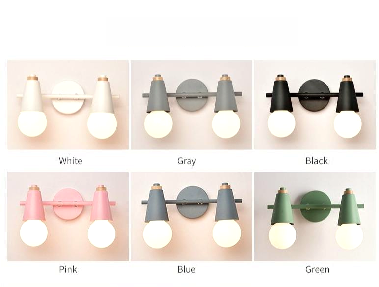 double two lights wall lamps design trendy