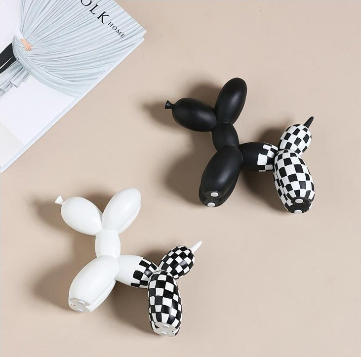Jeff Koons Balloon Dog Sculpture Accent for Home Decor
