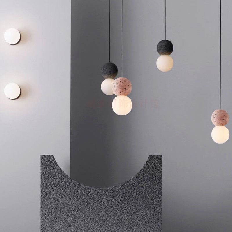 Light Spot Cement Pendant Lights