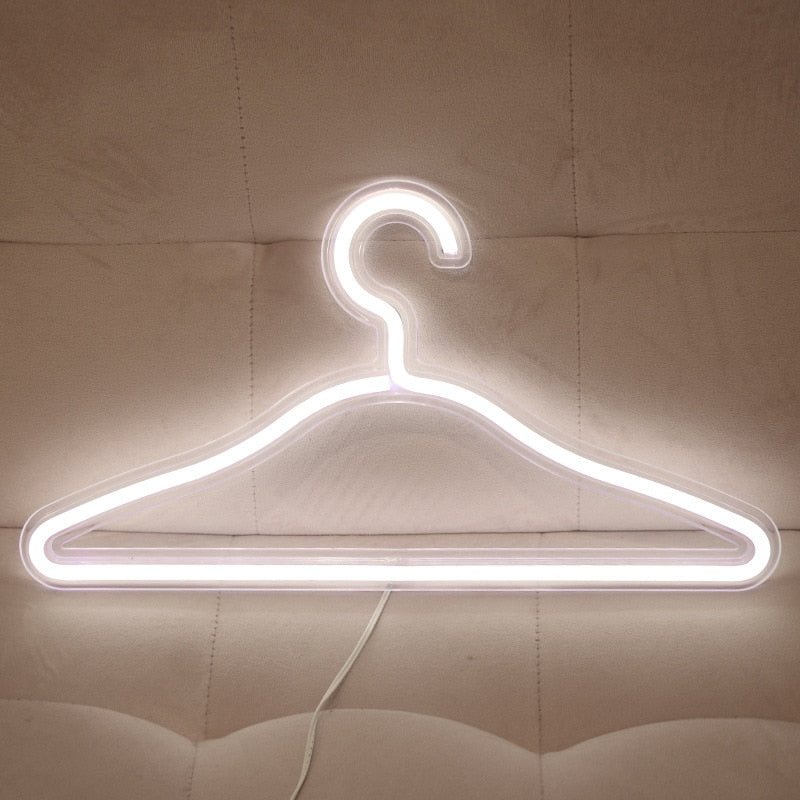 Neon Lights USB LED Clothes hanger