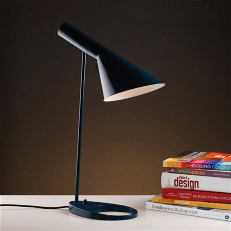 black AJ Color LED Table Lamp