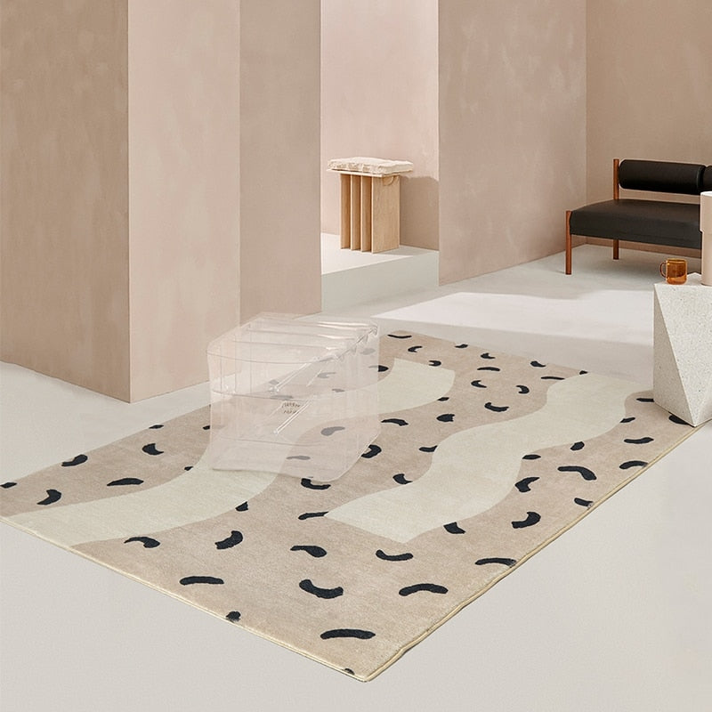 Modern Spots Abstract Area Rug