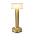 Touch Sensor LED Table Lamp with Rechargeable Batteries Gold Rose Gold