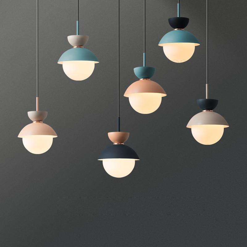 round glass ball hanging ceiling pendant light