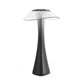 black Smart Touch Table Lamp with USB Rechargeable Batteries