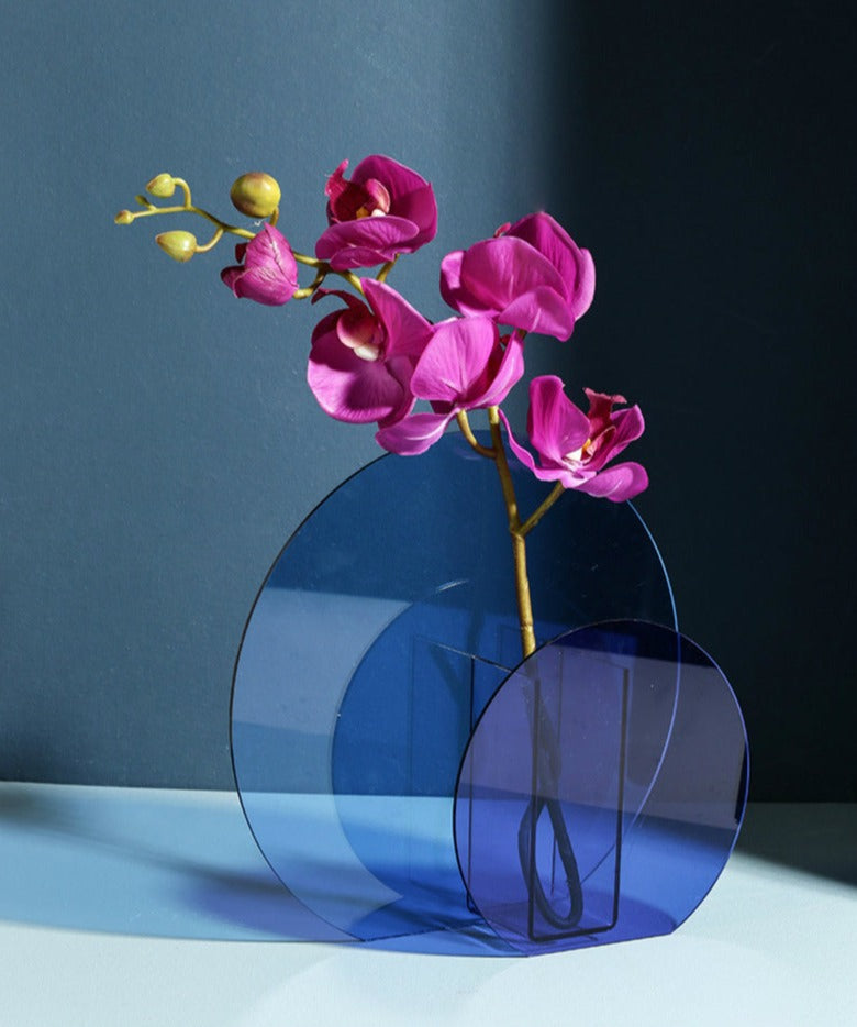 High Shine Translucent Acrylic Vases