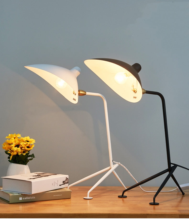 Serge Duckbill Post Modern Table Lamp