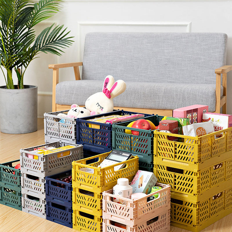 Stackable Plastic Storage Boxes