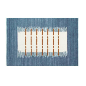 Denim Effect Area Rug