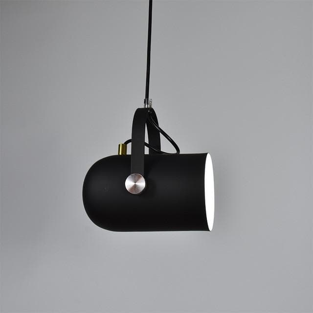 Post Modern Color Metal Spotlight Home Lighting and Decor Black