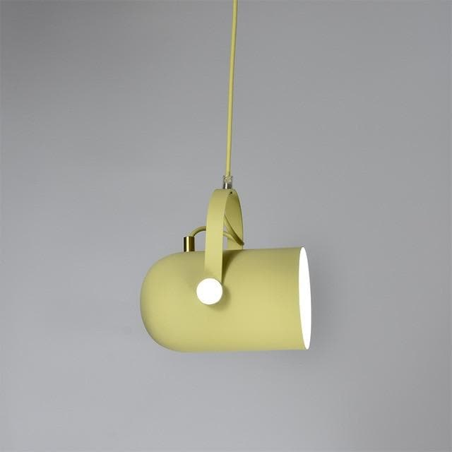 Post Modern Color Metal Spotlight Home Lighting and Decor Yellow