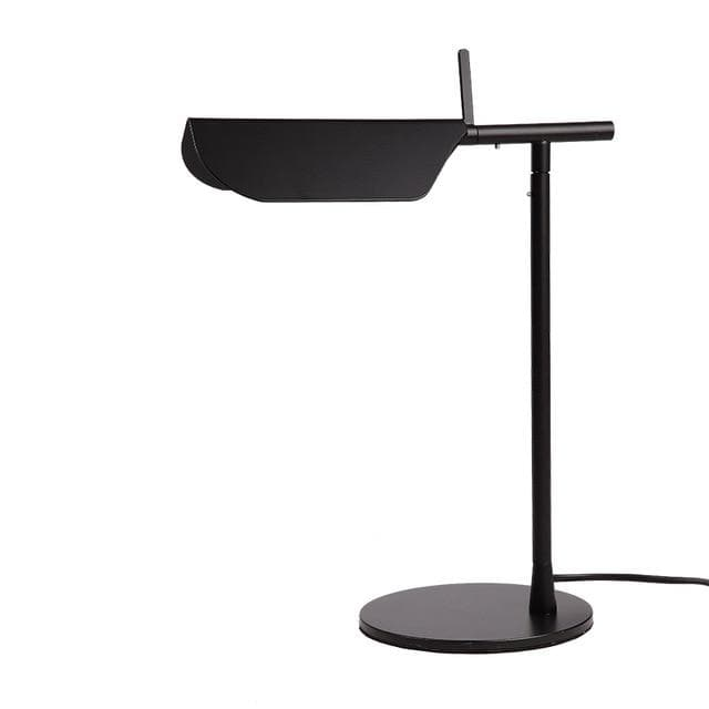 black metallic Post Modern table lamp
