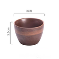 Japanese Ceramic Porcelain Bowls and Plates for Modern Kitchen Brown