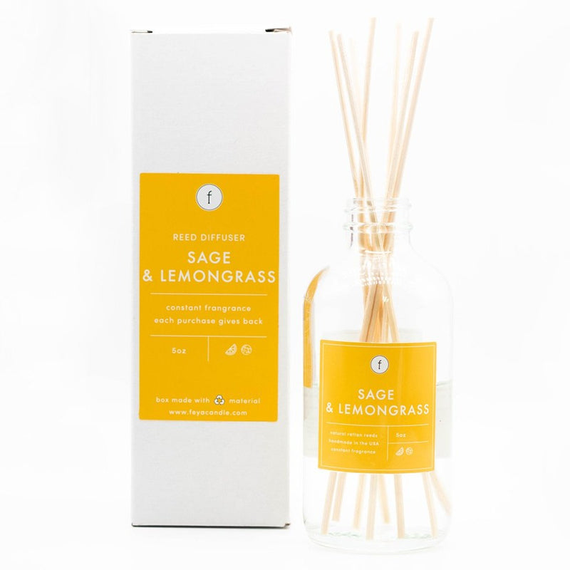 Sage & Lemongrass Reed Scented Diffuser