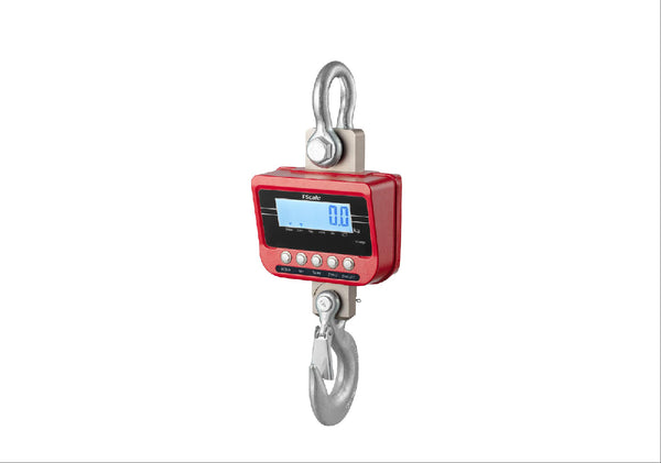 Crane Scale with Bluetooth & Remote Control, 3000Kg x 1Kg - Boston Instruments and Equipment Co.