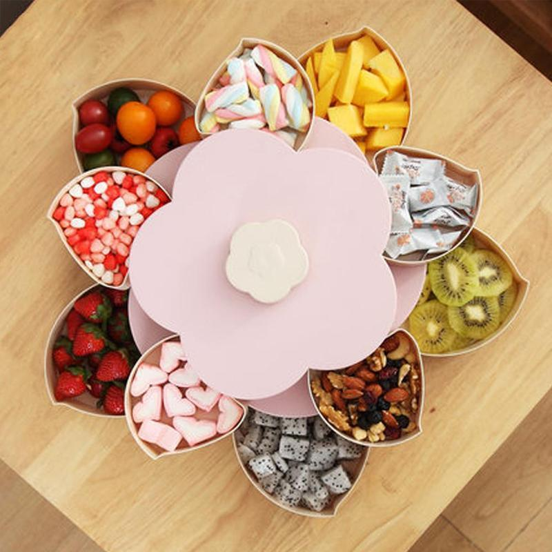 Flower Petal Snack Holder