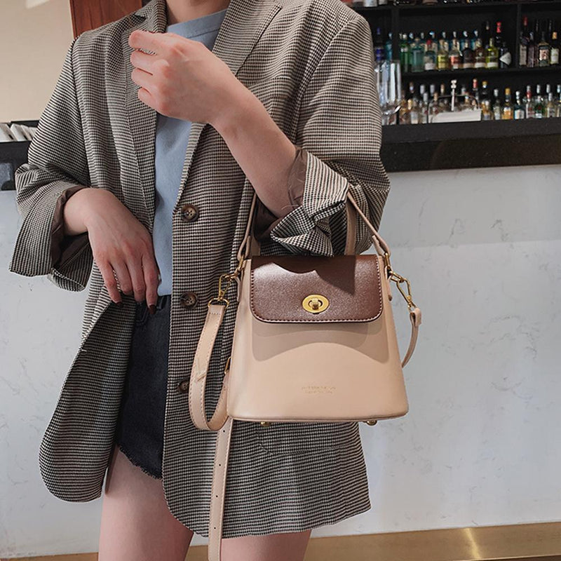 Stylish Portable Bucket Bag