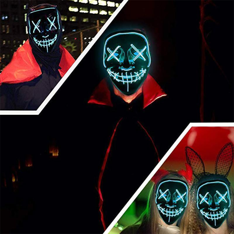 Halloween - LED luminous mask